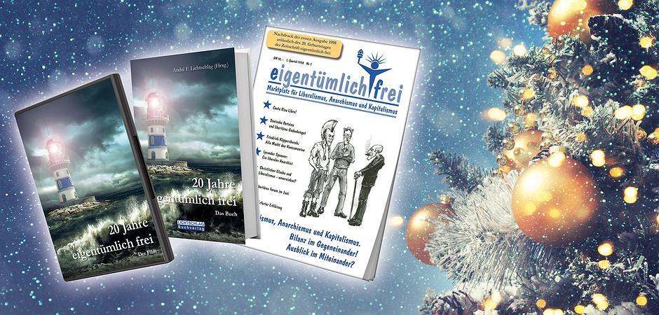 Weihnachtsgeschenke 20.Weihnachtsgeschenke 20 Jahre Eigentümlich Frei Buch Plus Film