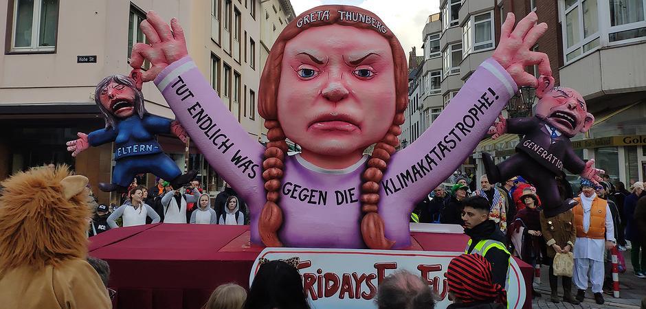 """Fridays For Future Detail: Klimareligion Gegen Schulzwang Bei Den """"Fridays For Future"""