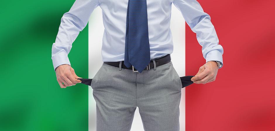Italien Pleite